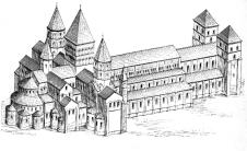 Maqueta abadia
